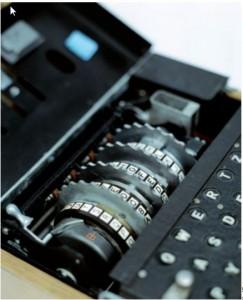 Enigma'nın rotorları.