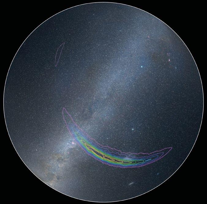 Kütleçekim Dalgalarının Geldiği Yer 14 Eylül 2015 tarihinde LIGO detektörleri tarafından algılanan kütleçekim dalgalarının geldiği düşünülen noktalar resim üzerinde, göğün güney yarıküresinde işaretlenmiş. Farklı renkler sinyallerin o bölgeden gelme ihtimaline karşılık geliyor. Sinyalin mor bölgeden gelme ihtimali %90, içteki sarı bölgeden gelme ihtimaliyse %10.