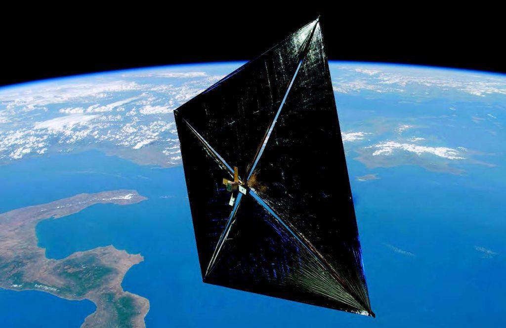 NASA Gunes Yelkenli Itki Sistemi
